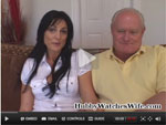 Hubby-watches-wife-video